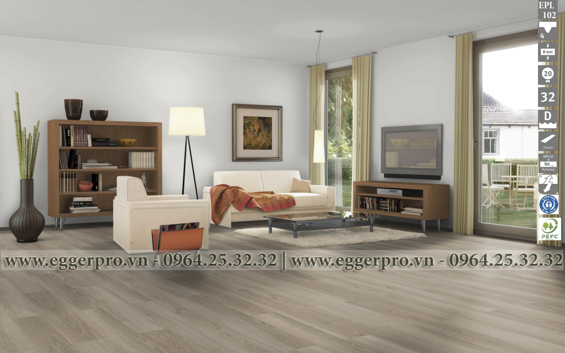 Sàn gỗ công nghiệp Egger Pro EPL 102