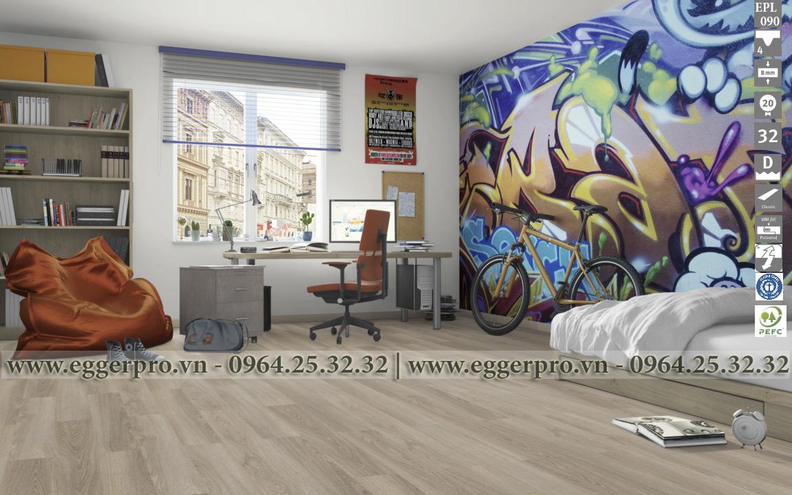 Sàn gỗ công nghiệp Egger Pro EPL 090