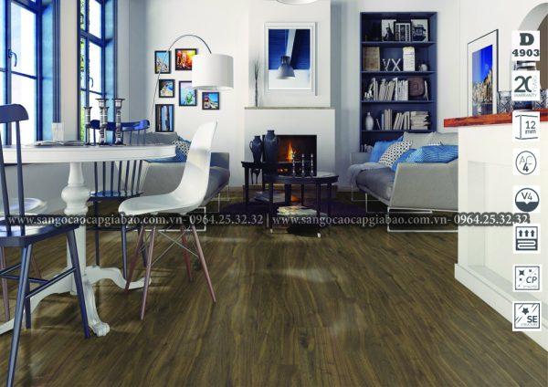 sàn gỗ công nghiệp Kronopol D4903 Cartagena Walnut