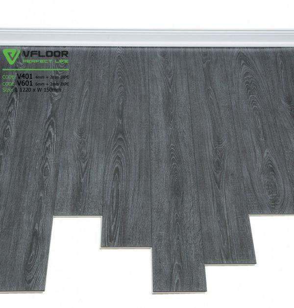 sàn nhựa hèm khóa vfloor V401