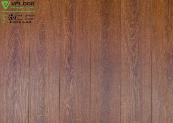 sàn nhựa spc vfloor V603