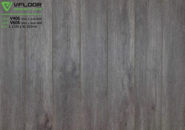 sàn nhựa spc vfloor V606