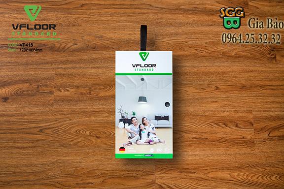 sàn nhựa hèm khóa vp418 ở phủ lý