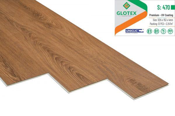Sàn nhựa hèm khóa Glotex s: 470