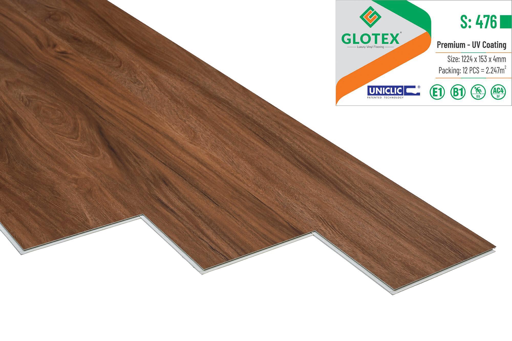 Sàn Nhựa Hèm Khóa GLOTEX S: 476