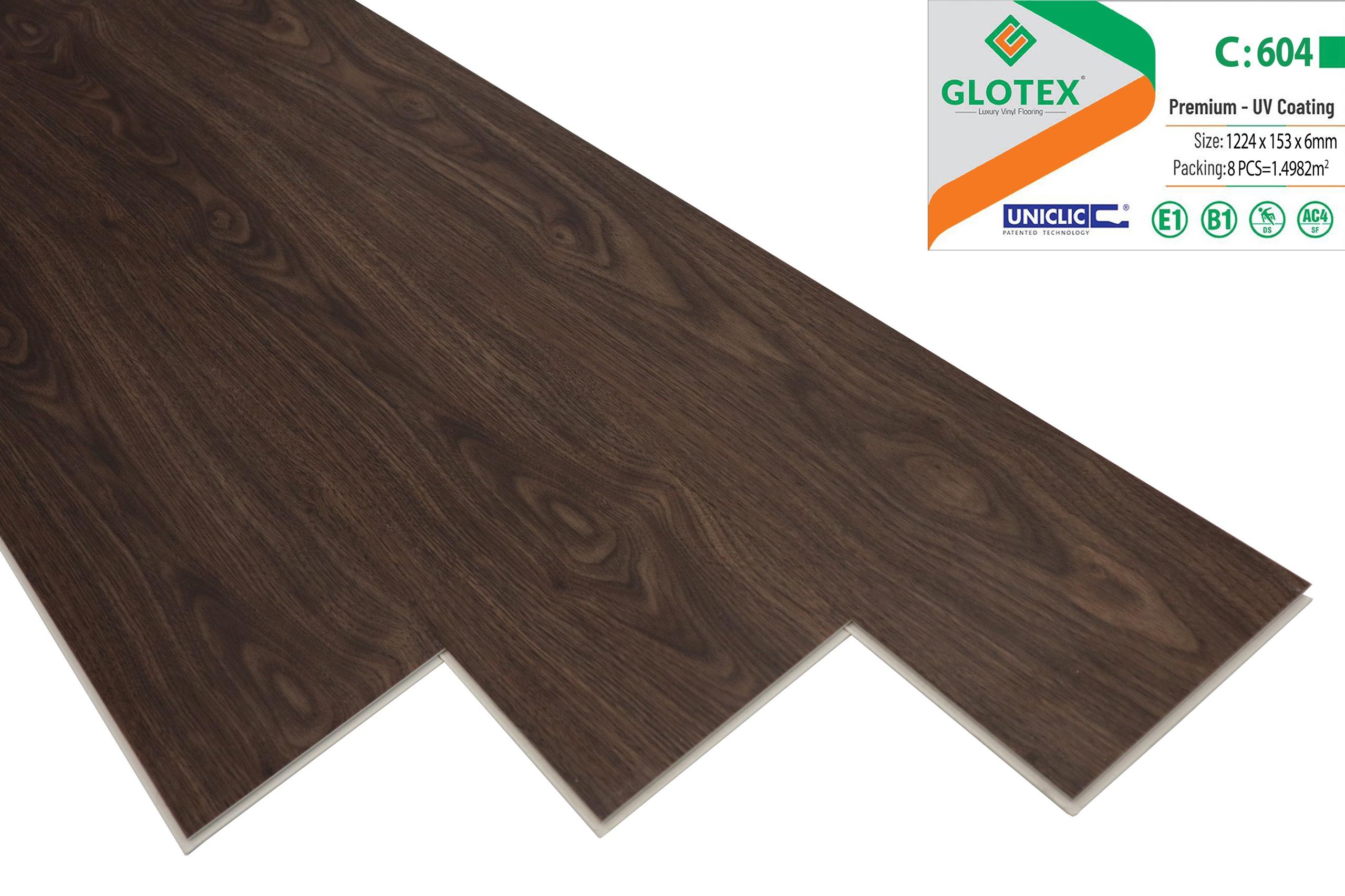 sàn gỗ hèm khóa glotex 604