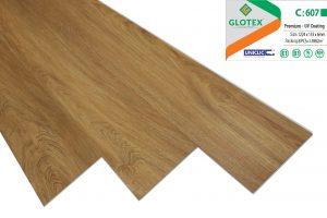Sàn nhựa hèm khóa glotex 607