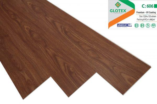Sàn nhựa Glotex 606