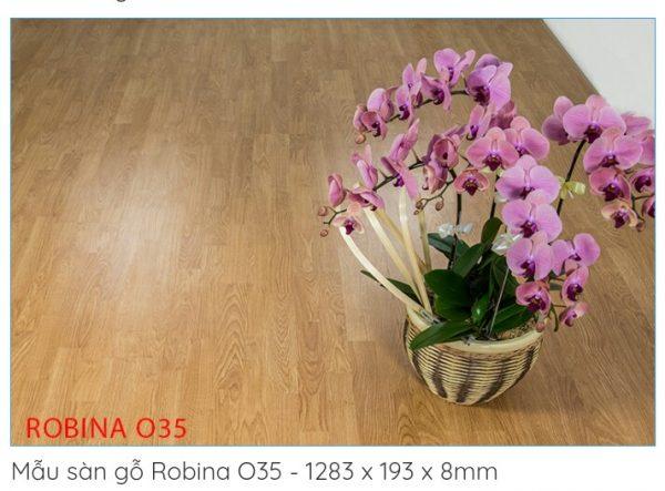 sàn gỗ công nghiệp robina O35
