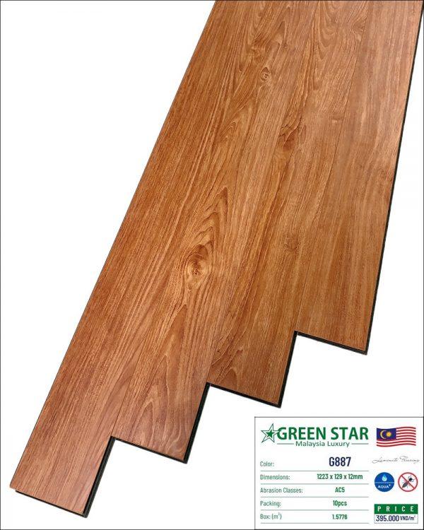 SÀN GỖ CÔNG NGHIỆP GREEN STAR G887