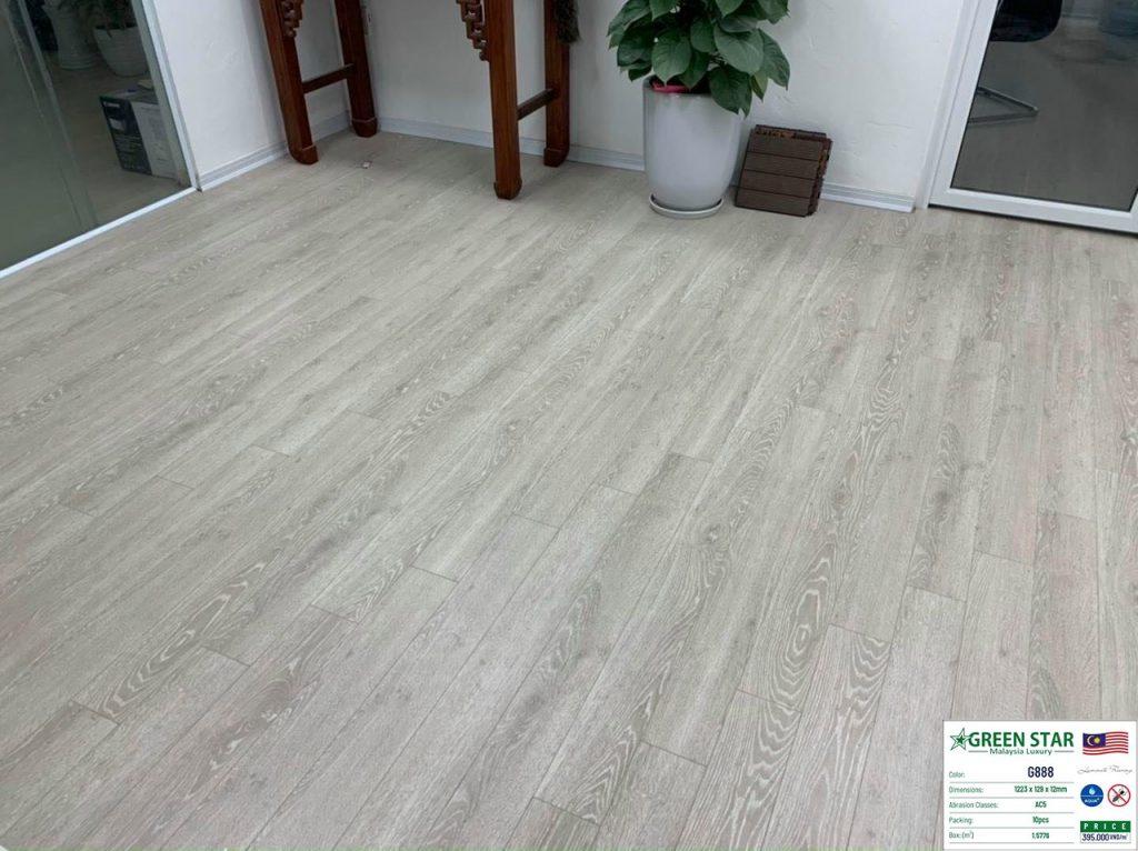 sàn gỗ công nghiệp green star