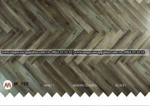 sàn gỗ xương cá Mayer MA211