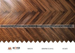 Sàn Gỗ Xương Cá Mayer MA218