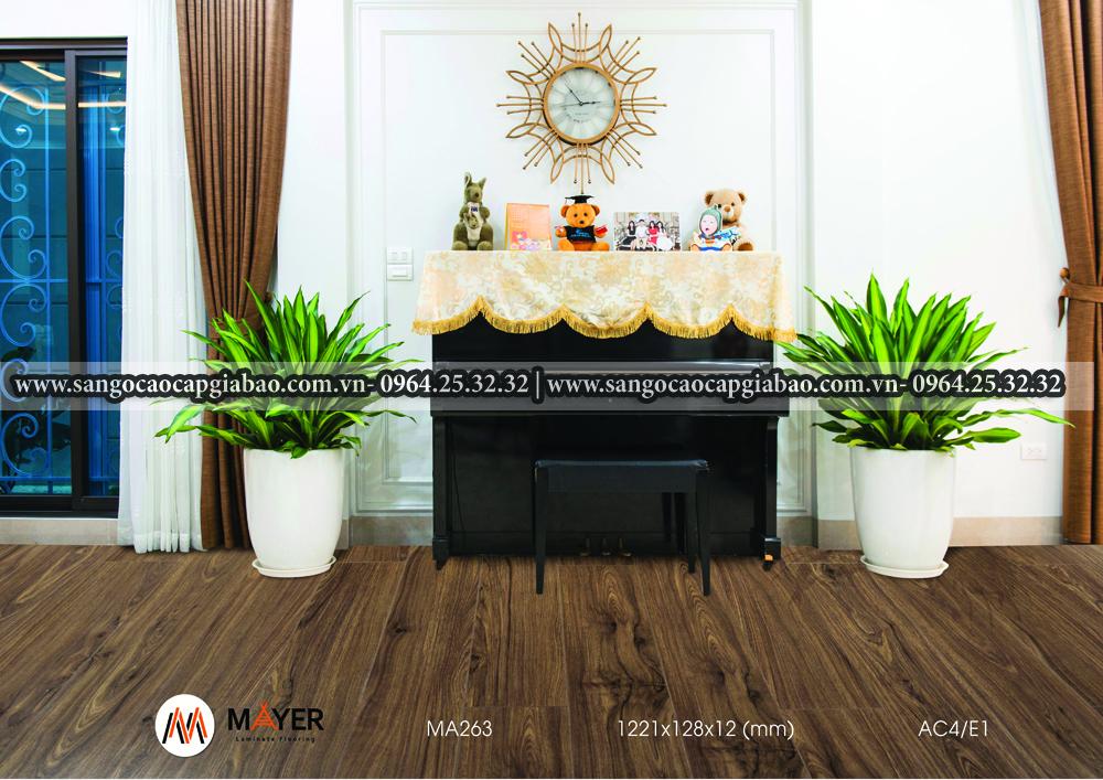 sàn gỗ Mayer MA263